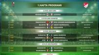 TFF 1. Lig'in 4 Haftalık Maç Programı Açıklandı