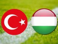 A MİLLİ FUTBOL TAKIMI - Türkiye 0-1 Macaristan (Maç sonucu)