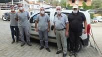 Burhaniye'de Temizlik İşçileri Takdir Topladı