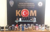 Manisa'da Kaçak Parfüm Operasyonu