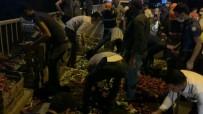 Şanlıurfa'da Trafik Kazası Açıklaması Hafif Ticari Aracın Çarptığı Motosiklet Sürücüsü Ağır Yaralandı