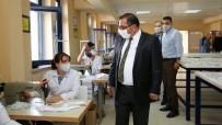 Tunceli'de Halk Eğitim Merkezleri Öğrenciler İçin Maske Üretti