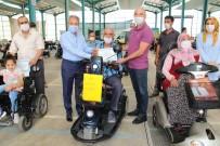 Akşehir Belediyesinden Engellilere Akülü Araba