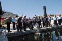 Eğirdir Gölü'ne 562 Bin Adet Sazan Yavrusu Bırakıldı
