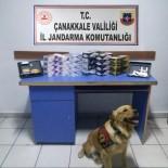 Gökçeada'da Kaçak Sigara Operasyonu