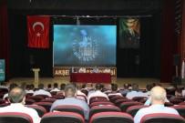 Akşehir'de Muhtarlarla İstişare Toplantısı Yaptı