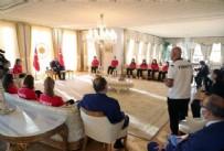 VOLEYBOL ŞAMPİYONASI - Cumhurbaşkanı Erdoğan, Avrupa Şampiyonu olan U19 Kız Voleybol Takımı'nı kabul etti