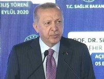 GÖZTEPE - Cumhurbaşkanı Erdoğan: Sürekli söylememize rağmen tavsiyelere uyulmuyor