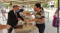 Kestel'de Aşure Kazanları 15 Bin Kişi İçin Kaynadı