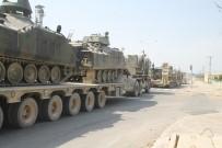 REYHANLI - Yunanistan sınırına tank sevkiyatı