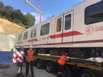 ŞEHİR İÇİ - Bakan duyurdu! Dev metro projesinde ilk tren raylara indi...