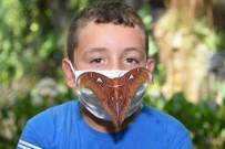 Dünyanın En Büyük Kelebeği 'Atlas' Konya Tropikal Kelebek Bahçesi'nde