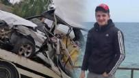 ATATÜRK - Otomobil park halindeki araca çarptı!
