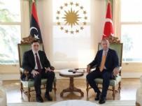 YAZILI AÇIKLAMA - Vahdettin Köşkü'nde Başkan Erdoğan ile Serrac arasında kritik Libya zirvesi...