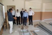 Akşehir'de Okullardaki Bakım Ve Onarım Çalışmaları Sürüyor