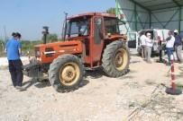 Manyas'ta 73 Traktörün Fennî Muayenesi Yapıldı