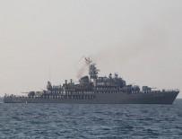 KıBRıS - Türk gemileri Kıbrıs'ı böyle selamladı!
