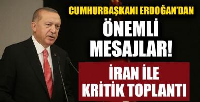Başkan Erdoğan'dan Türkiye-İran Yüksek Düzeyli İşbirliği Konseyi 6. Toplantısı'nda flaş açıklamalar