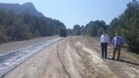 Cide'de Okçular Köyünün Yolu Asfaltlandı