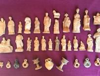 Tam 2200 yıllık eserler ortaya çıktı!