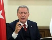 TELEFON GÖRÜŞMESİ - Bakan Akar'dan kritik görüşme!