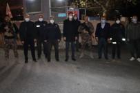 Aksoy Yeni Yıla Polis Ve Sağlık Çalışanları İle Girdi
