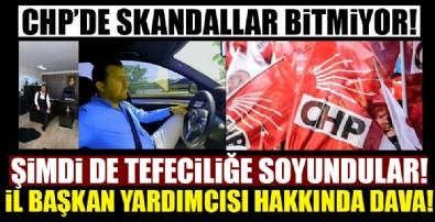 CHP'de bu sefer de tefecilik skandalı!