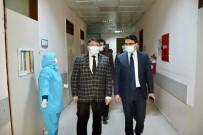 Kaymakam Ünsal, Sağlık Çalışanlarının Yeni Yılını Kutladı