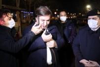 Vali Aydoğdu Telsiz Anonsuyla Güvenlik Güçlerinin Yeni Yılını Kutladı