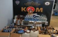Yalova'da Sahte İçki Operasyonu Açıklaması 2 Gözaltı