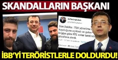 CHP'li Ekrem İmamoğlu İBB'yi teröristlerle dolduruyor! FETÖ'cü Saffet Dağbakan'a İSBAK'ta görev!