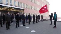Ağrı'da Bayrak Töreni