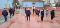 Çarşamba'da Okullarda Bayrak Töreni