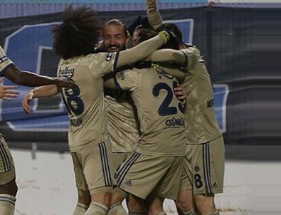 Fenerbahçe, Erzurum deplasmanında 3 puanı 3 golle aldı!