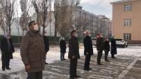 Kars'a Tüm Okullarda İstiklal Marşı Okundu