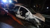 Samsun'da Karşı Şeride Geçen Otomobil Tır İle Çarpıştı Açıklaması 1 Ölü, 2 Yaralı