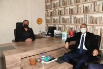 Vali Çuhardar'dan, Kahta Gazeteciler Ve Yazarlar Cemiyetine Ziyaret