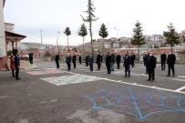 Yozgat'ta Okullarda İstiklal Marşı Okundu