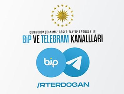 Başkan Erdoğan da Bip'e katıldı!