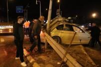 Bolu'da İki Otomobil Çarpıştı Açıklaması 2 Yaralı
