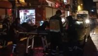 Genç Kadın 4. Kattan 3'Üncü Katın Balkonuna Düştü