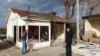 Kaynaşlı'da Prefabrike Yapılar Kaldırılıyor