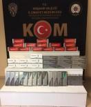 Kırşehir'de KOM Ekipleri, 859 Paket Kaçak Sigara Ele Geçirdi