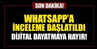 Kişisel Verileri Koruma Kurumu'ndan WhatsApp'a inceleme
