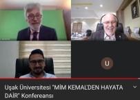 Mim Kemal Öke, Uşak Üniversitesinin Canlı Yayınına Konuk Oldu