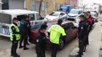 Polisin 'Dur' İhtarına Uymayan Sürücü Aracını Bırakıp Kaçtı
