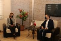 Vali Becel, KAPTİD Başkanı Dinler'i Ziyaret Etti