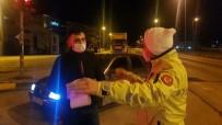Ehliyetsiz Sürücü Otomobili İle Cenazeye Gitmeye Kalkıştı, Polislere Yakalandı