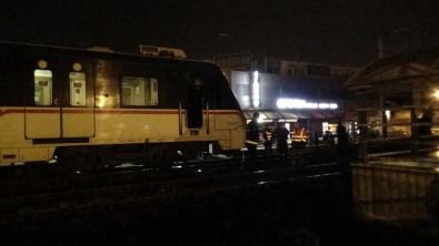 Raylardan Yolun Karşısına Geçmek İsterken Trenin Altında Kaldı