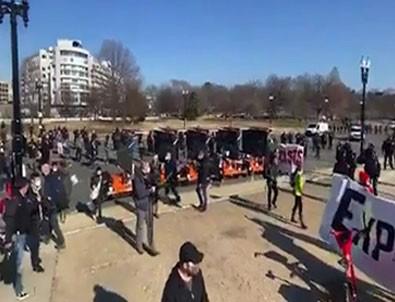 Washington'da Trump destekçileri toplanmaya başladı!
